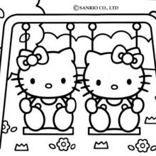 les jeux coloriage hello kitty