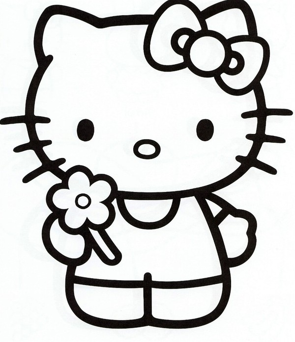 coloriage hello kitty sur hugolescargot