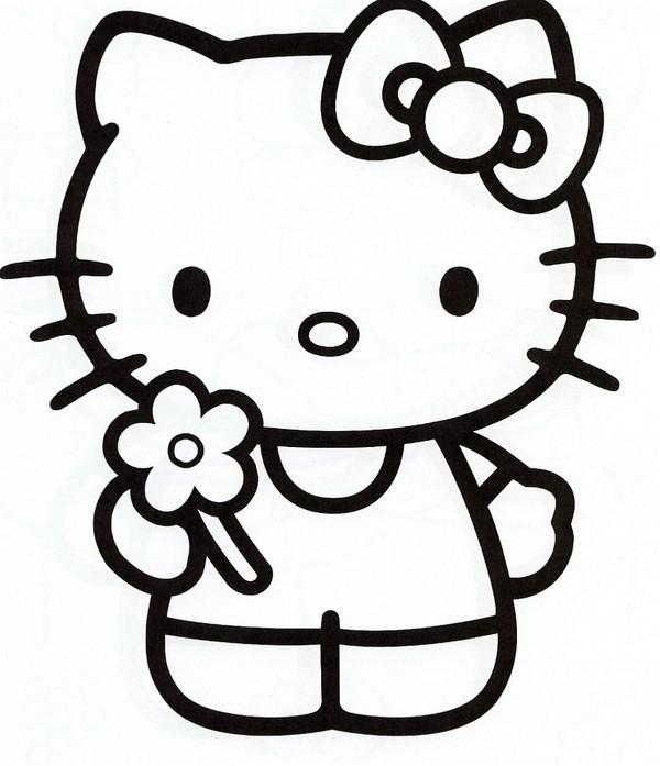 coloriage hello kitty sur hugolescargot