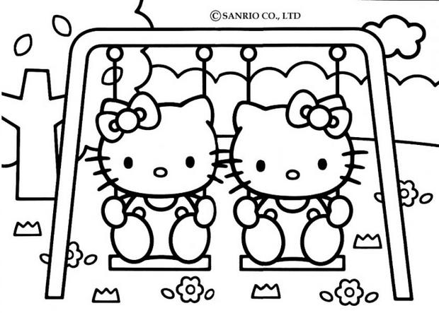 tfou coloriage hello kitty