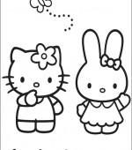 coloriage hello kitty imprimer gratuit
