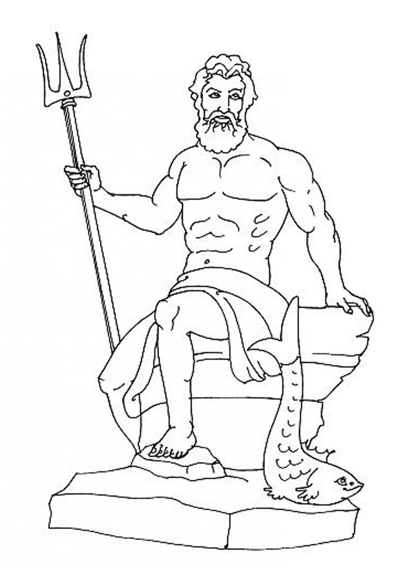 19 dessins de coloriage Hercule