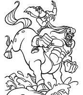 dessin hercule mythologie
