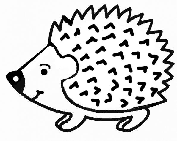 20 dessins de coloriage h risson maternelle imprimer - Herisson dessin ...