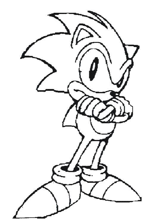 dessin à colorier d'un hérisson imprimer