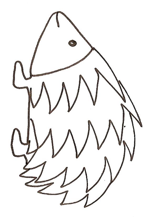 coloriage à dessiner imprimer herisson