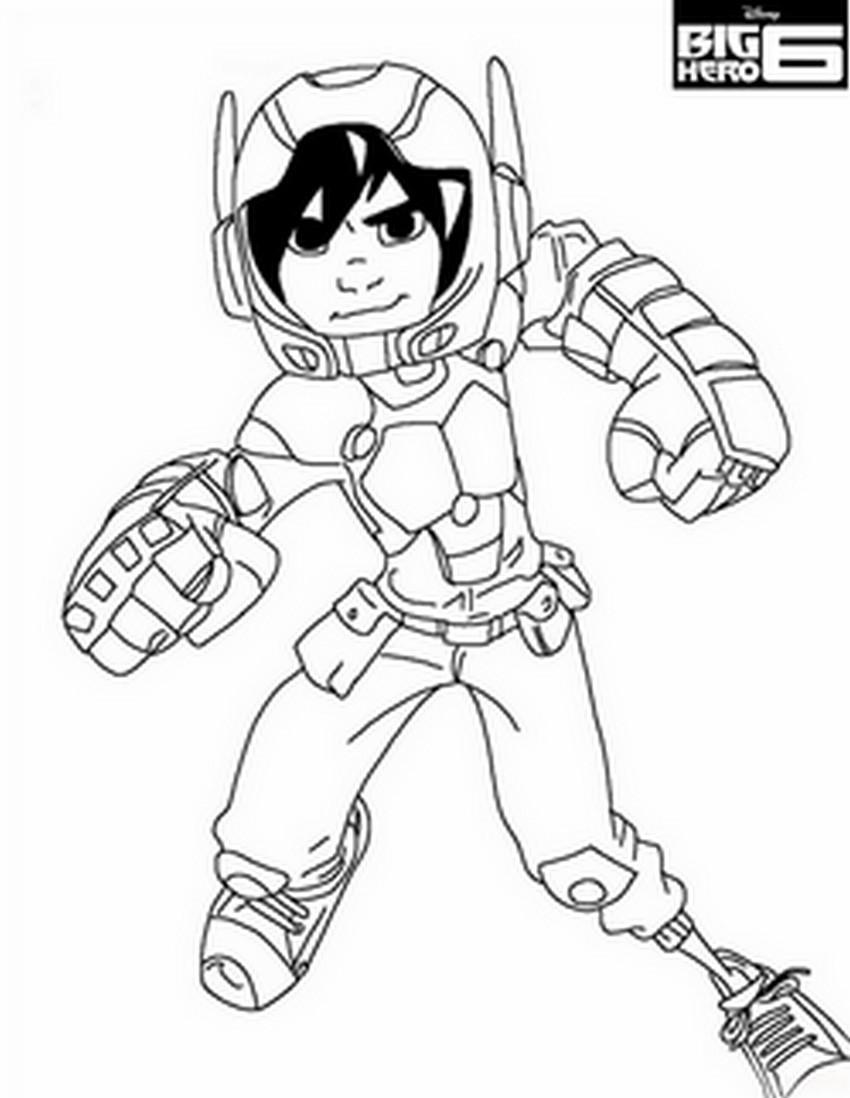 coloriage hero dessin animé
