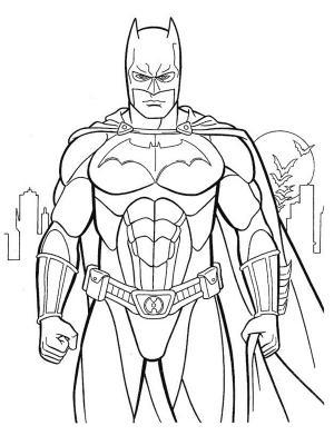 dessin à colorier à imprimer heros