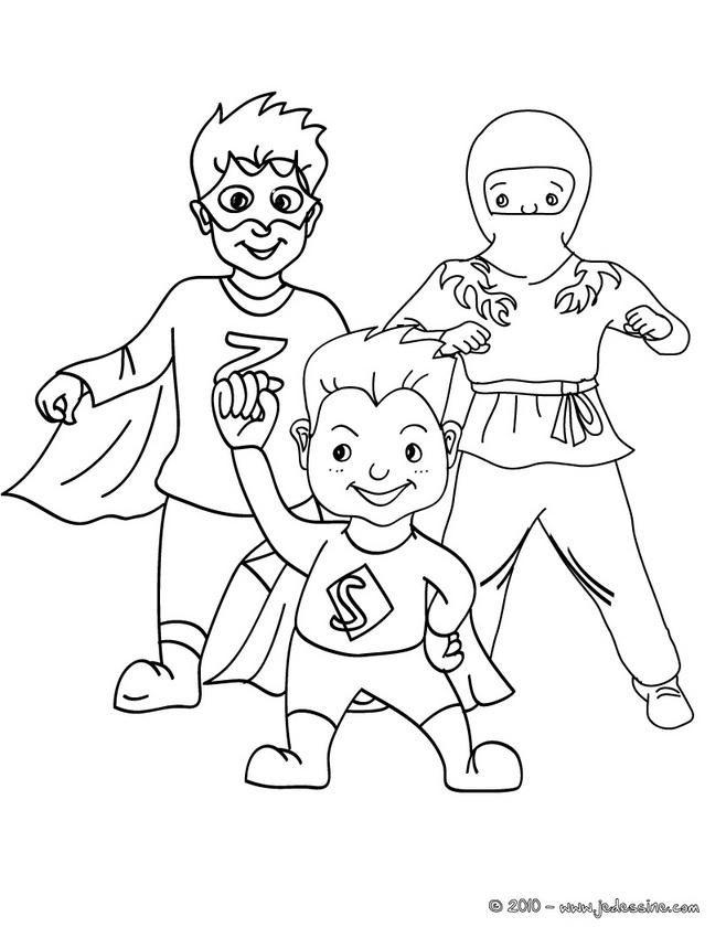 coloriage � dessiner de hero zero