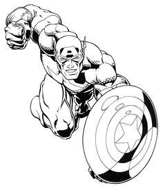 dessin de hero a imprimer