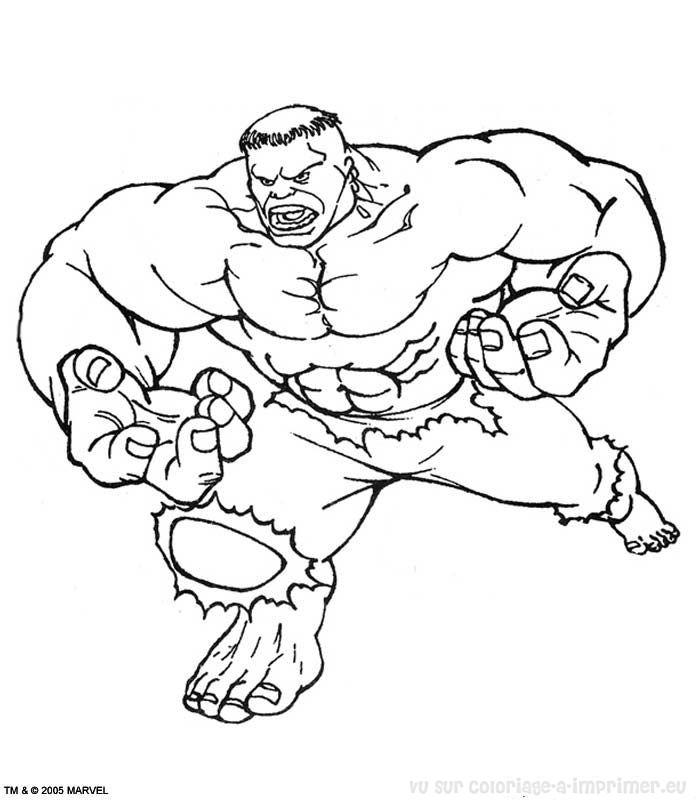 coloriage à dessiner heros tv a imprimer
