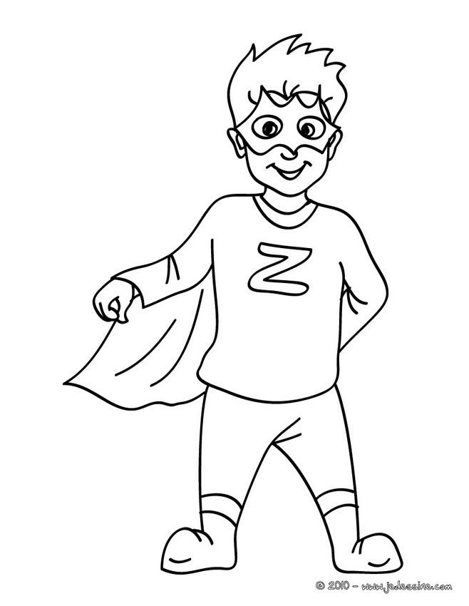 coloriage à dessiner hero en ligne