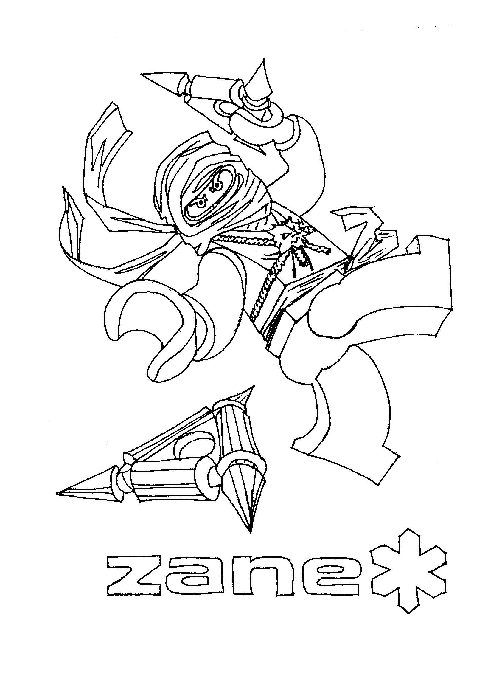 dessin à colorier hero factory imprimer