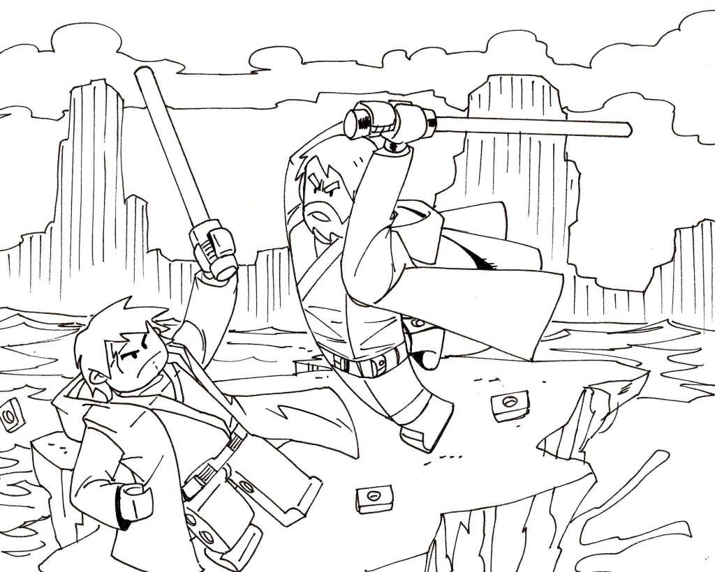 coloriage à dessiner à imprimer hero factory