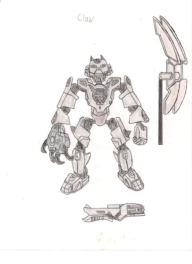 coloriage à dessiner hero factory lego