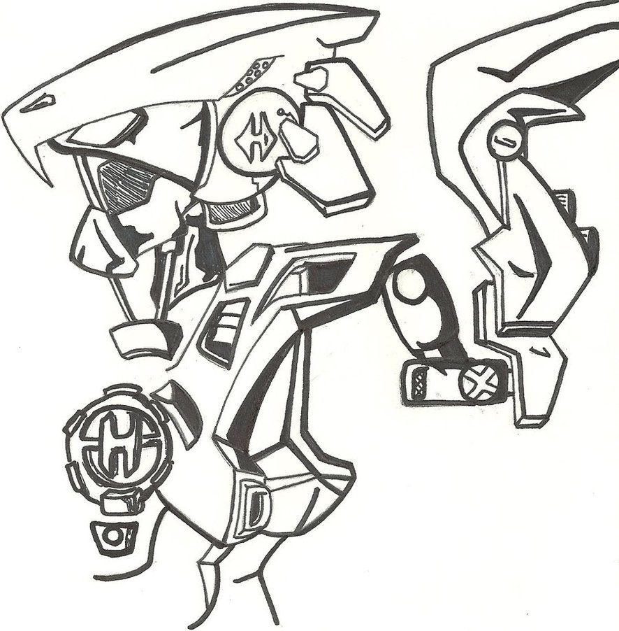 hero factory dessin en ligne