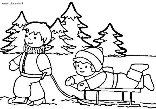 12 dessins de coloriage hiver maternelle imprimer - Coloriage magique hiver ...