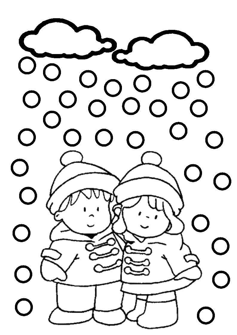 11 dessins de coloriage hiver neige imprimer - Coloriage de neige ...