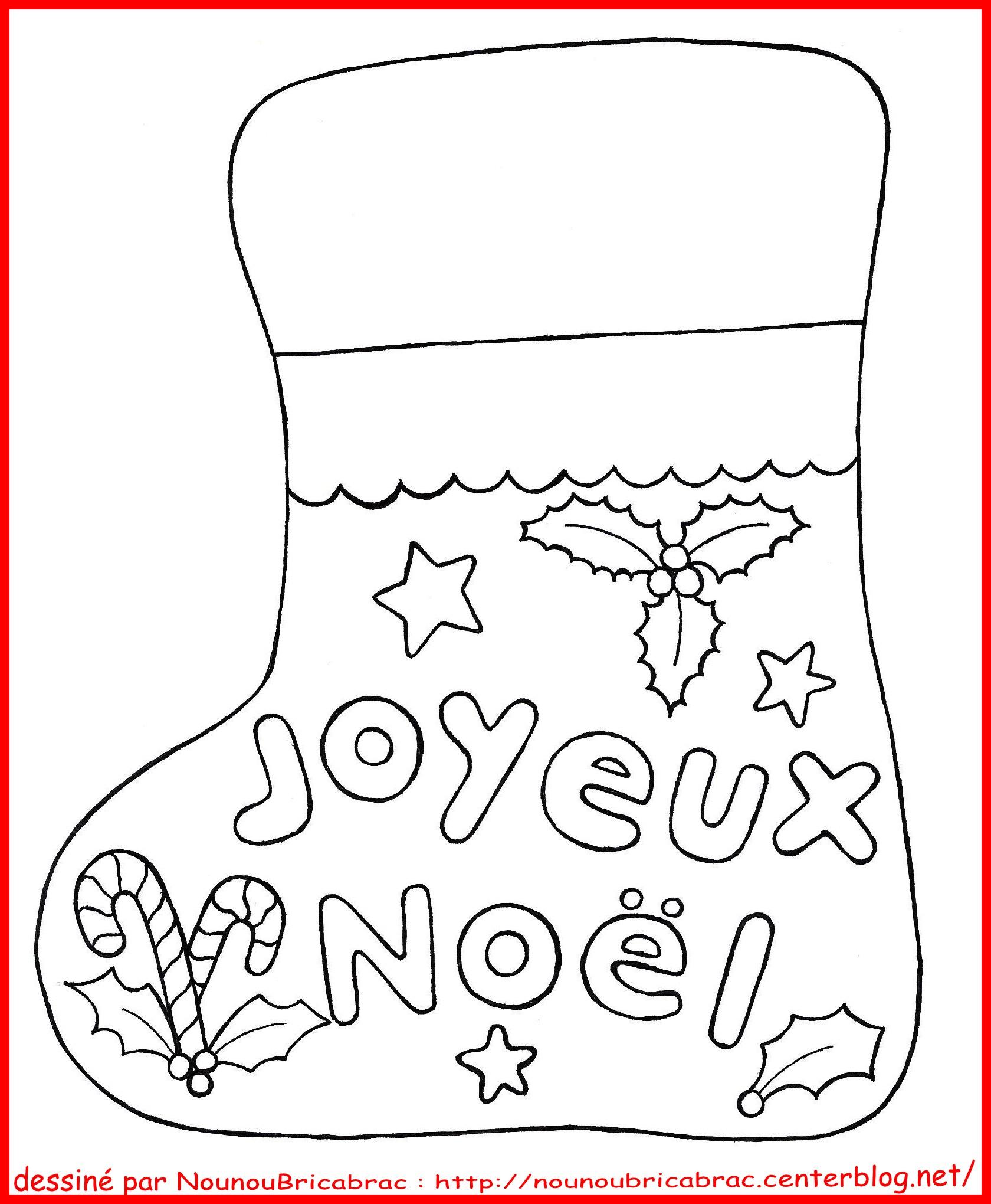 Frais Dessins A Colorier De Noel Gratuit