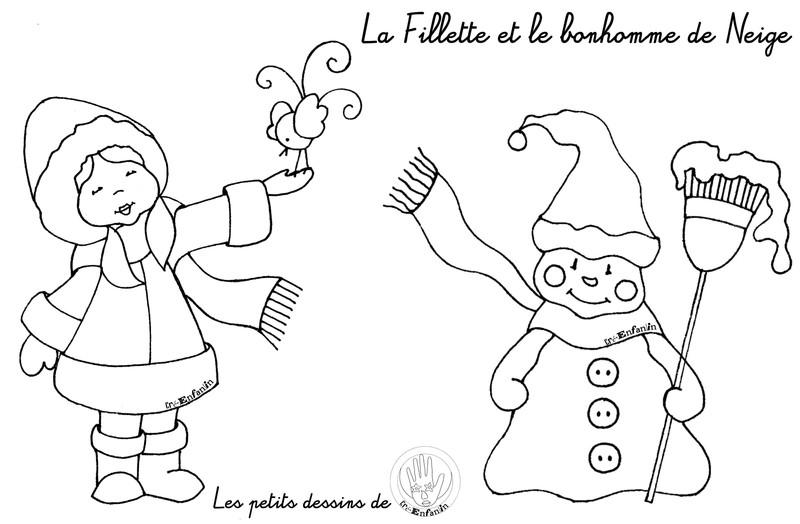 16 dessins de coloriage hiver petite section imprimer - Coloriage magique hiver ...