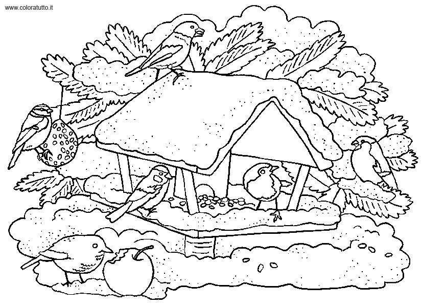 coloriage hiver mandala