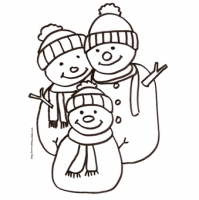 dessin hiver moyenne section