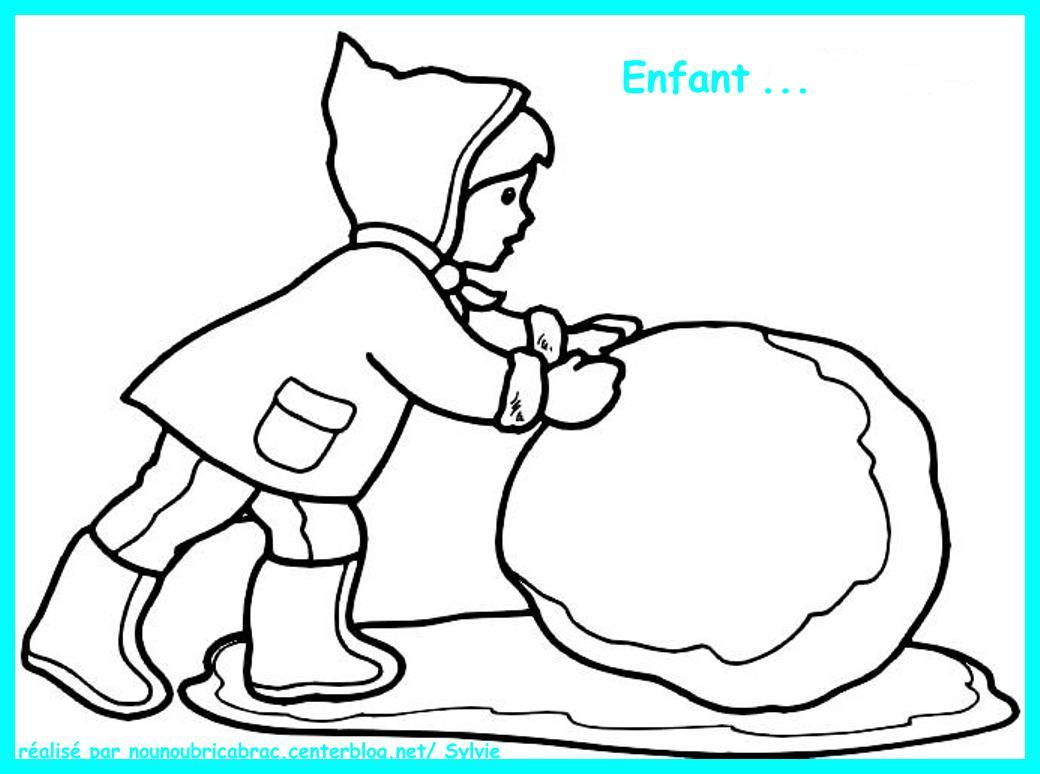 dessin princesse hiver