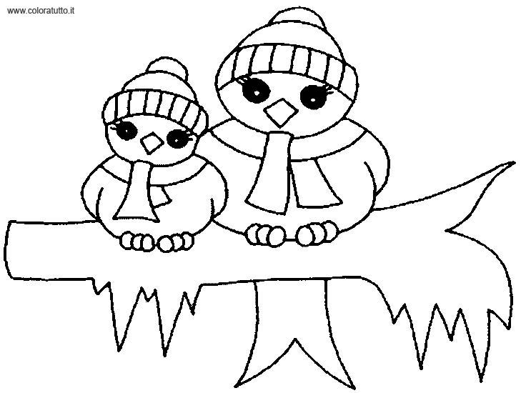 Coloriage dessiner hiver ce1 - Dessiner un paysage d hiver ...