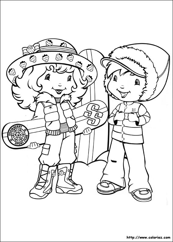 coloriages hiver hugo