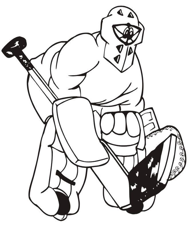 33 dessins de coloriage hockey imprimer - Dessin de hockey ...