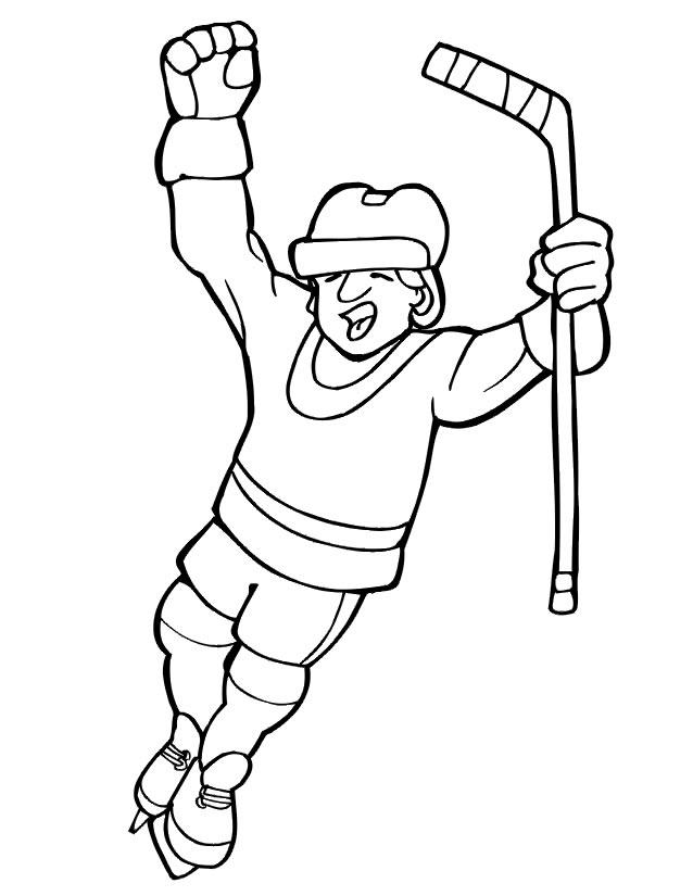 dessin de hockey sur gazon