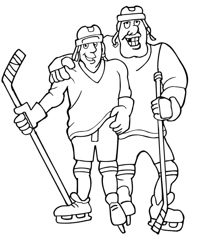 dessin hockey logo