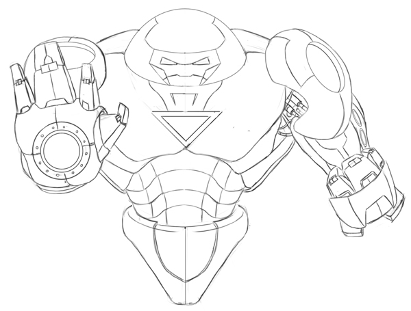 Hulkbuster coloring pages printable coloring pages ideas - Coloriage hulk ...