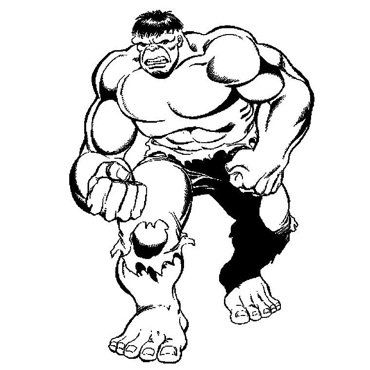 14 dessins de coloriage hulk gratuit imprimer - Hulk a imprimer ...