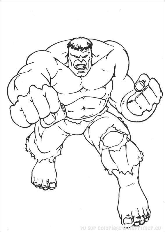 14 dessins de coloriage hulk gratuit imprimer - Modele lego gratuit ...