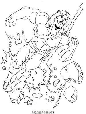 dessin dessin hulk