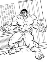 dessin d hulk
