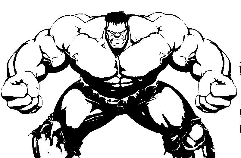 dessin hulk et iron man