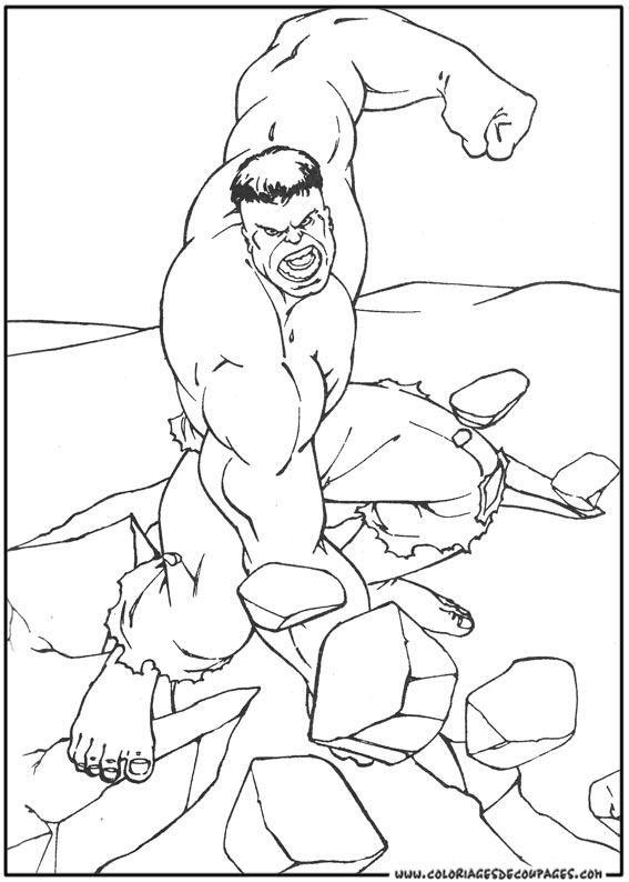 dessin hulk 4