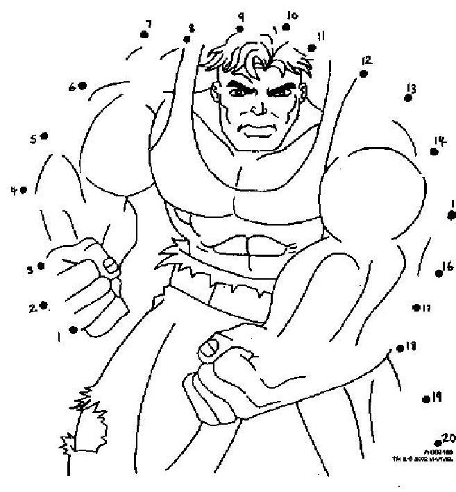 Coloriage dessiner hulk rouge - Hulk a imprimer ...