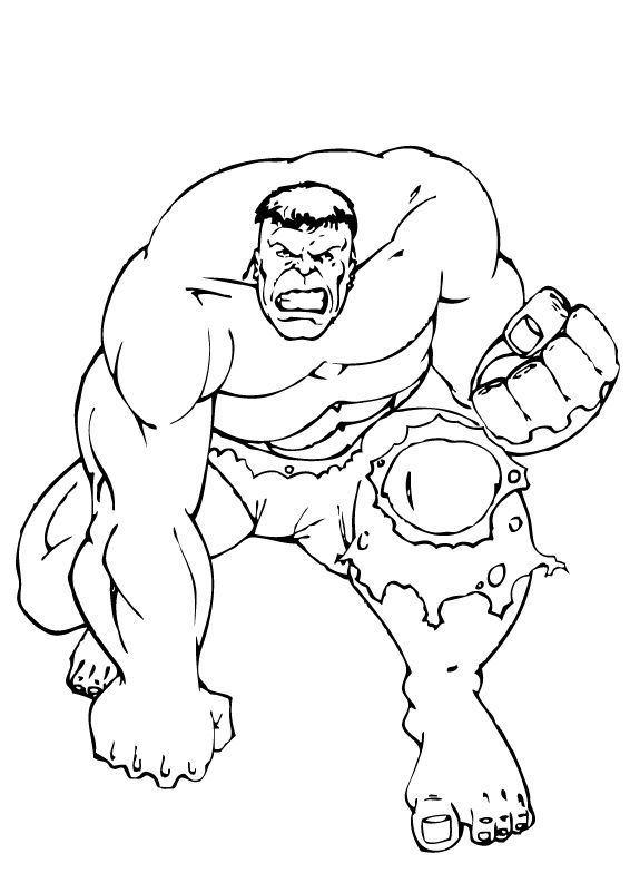 top dessin hulk