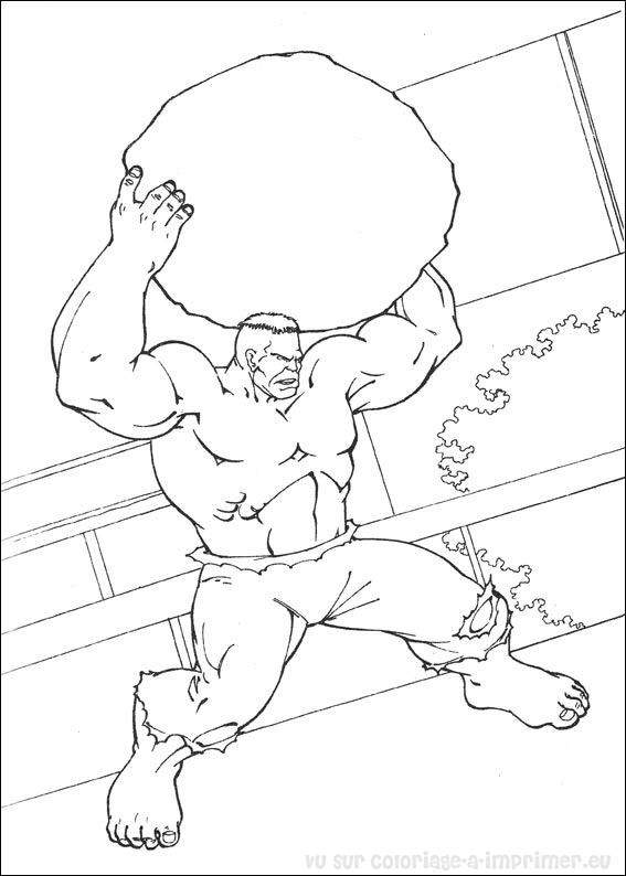 dessin hulk 3