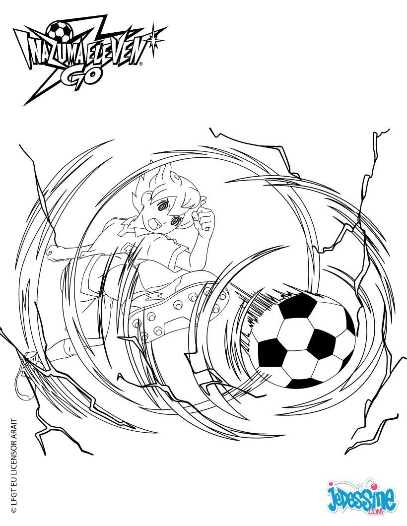 7 Dessins De Coloriage Inazuma Eleven Go Arion 224 Imprimer