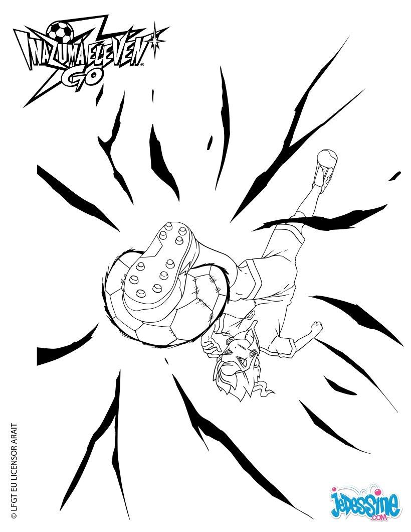12 dessins de coloriage inazuma eleven go victor imprimer - Coloriage de inazuma eleven ...