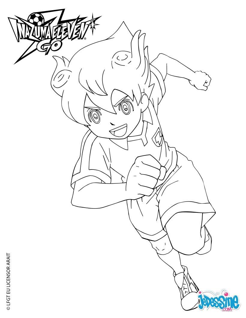 13 dessins de coloriage inazuma eleven go imprimer for Immagini inazuma eleven go da colorare