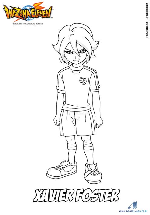 13 dessins de coloriage inazuma eleven xavier imprimer for Immagini inazuma eleven go da colorare