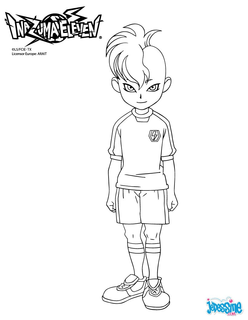 coloriage inazuma eleven 2 torch