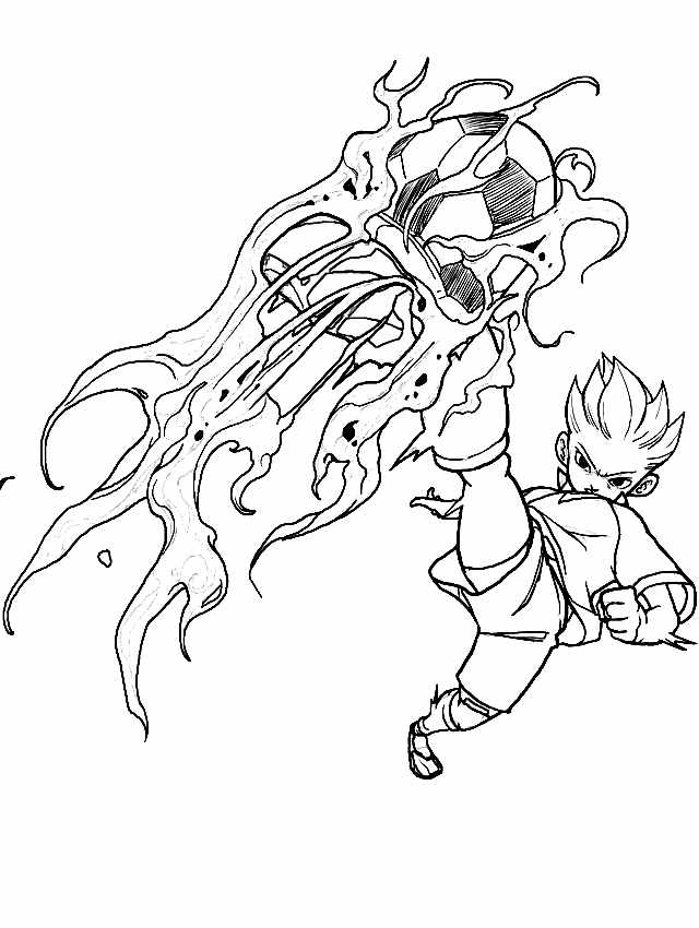 dessin inazuma eleven king