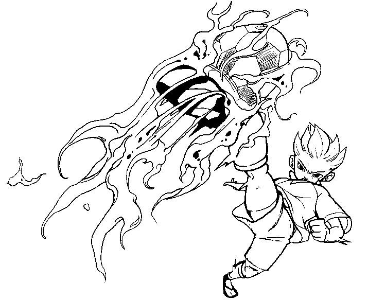 dessin inazuma eleven nathan