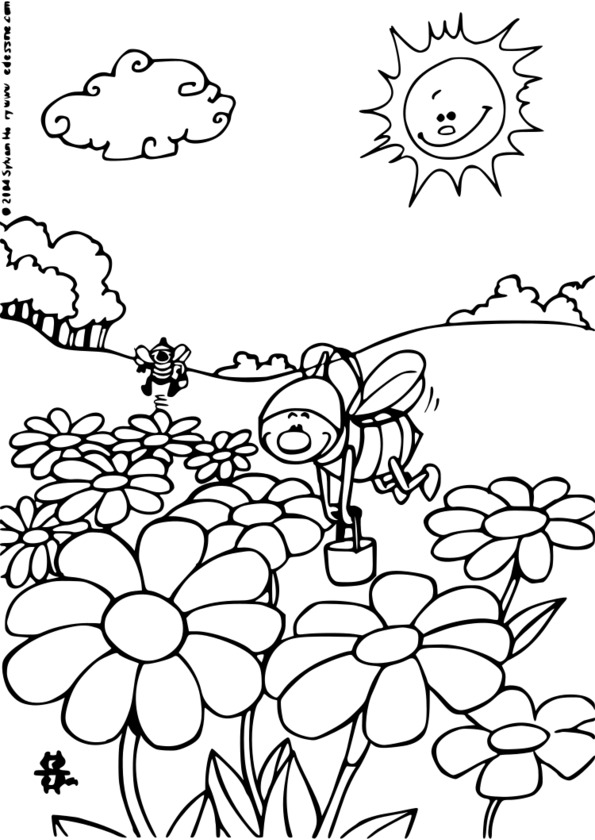 dessin insectes maternelle